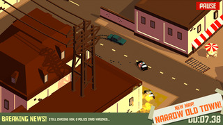 Pako - Car Chase Simulator iOS Screenshots