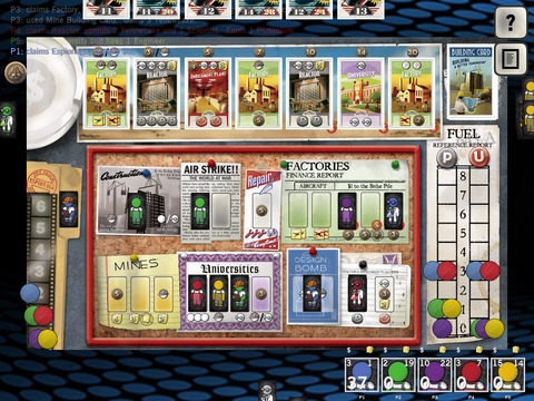 The Manhattan Project iPhone iPad Brettspiel