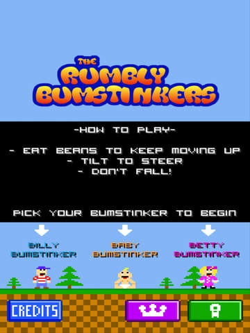 The Rumbly Bumstinkers iOS Screenshots