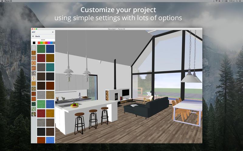 planner 5d home amp interior design sul mac app store