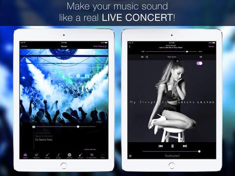 LiveTunes iPad