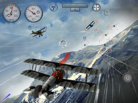 Sky Gamblers Rise Of Glory iOS Screenshots
