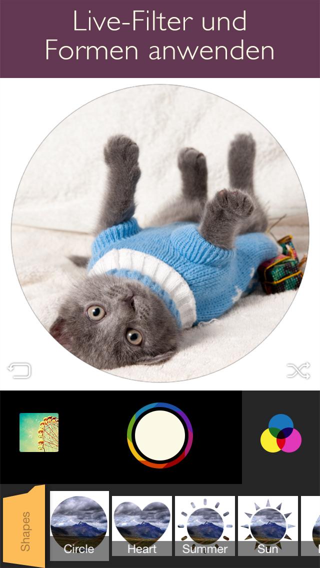 fx8 foto foto bearbeitung mit rahmen und effekten iphone aptgetupdatede. Black Bedroom Furniture Sets. Home Design Ideas