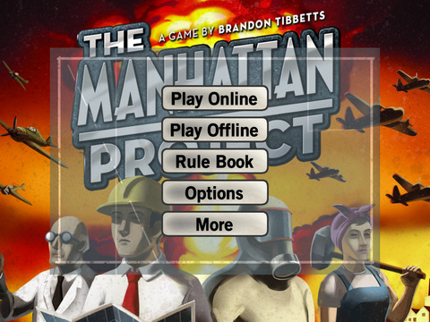 The Manhattan Project iOS Screenshots