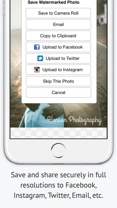 iWatermark Screenshot