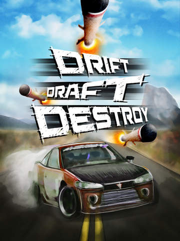 Drift Draft Destroy iOS Screenshots