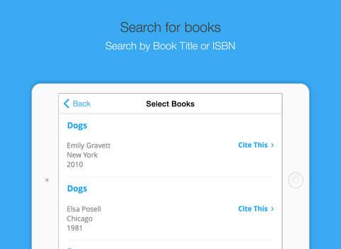 EasyBib: Automatic Bibliography Generator and Citation Machine Screenshot