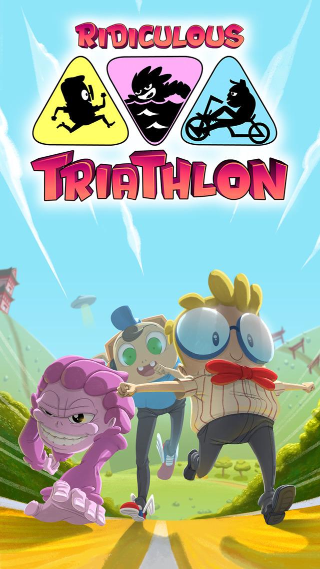 Ridiculous Triathlon iOS Screenshots