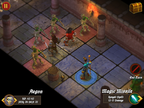 Dungeon Crawlers Metal iOS Screenshots