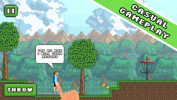 Screenshot 4 Pixel Disc Golf