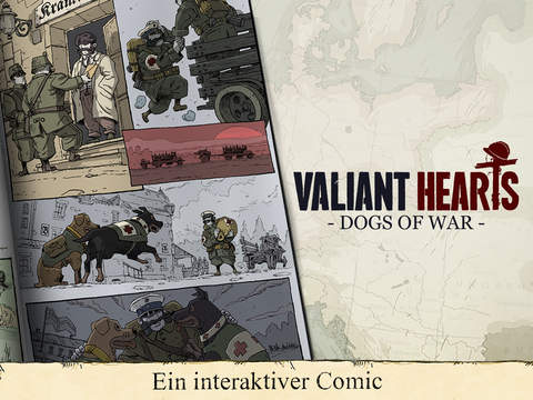 Valiant Hearts: The Great War iOS Screenshots