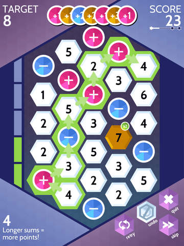 Sumico, the numbers game iOS Screenshots