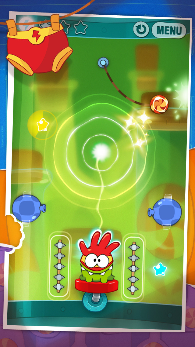 Screenshot 3 Cut the Rope: Experiments