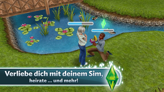 Screenshot 4 Die Sims™  FreePlay