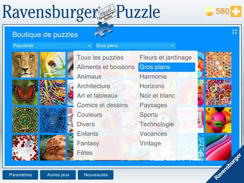 Ravensburger Puzzle iPad
