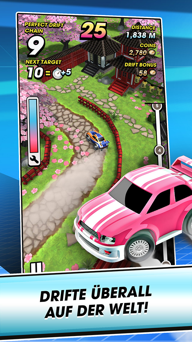 Mega Drift iOS Screenshots