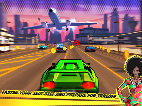 Adrenaline Rush Miami Drive iPhone iPad