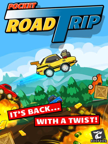 Pocket Road Trip iOS Screenshots