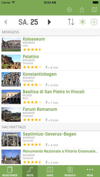 Rom Reiseführer (mit Offline Stadtplan) - mTrip Screenshots