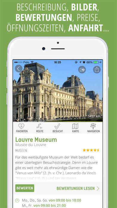 mTrip Reiseführer (mit Offline Karten und Routen) Screenshot