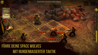 Warhammer 40,000: Space Wolf iOS Screenshots