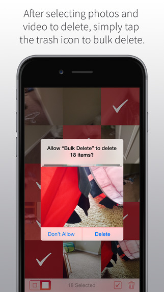 how to delete videos from iphone camera roll