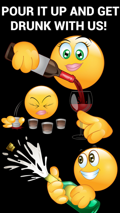 download Drunk Emoticons Keyboard - Adult Emojis & Extra Emojis By Emoji World apps 0