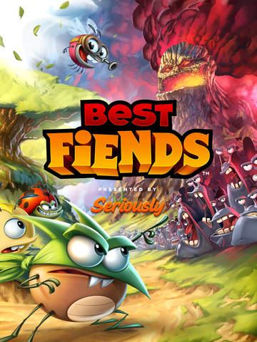 Best Fiends Puzzle-­Abenteuer iOS Screenshots