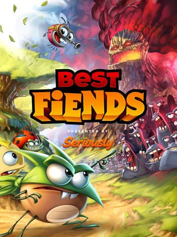 Best Fiends Puzzle-Abenteuer iOS Screenshots