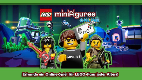 Screenshot 1 LEGO® Minifigures Online