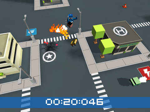MiniChase Cops: Polizeiauto 3D iOS Screenshots