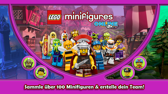 Screenshot 2 LEGO® Minifigures Online