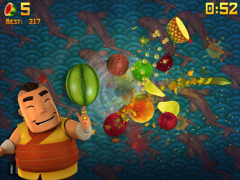 Screenshot 3 Fruit Ninja Classic