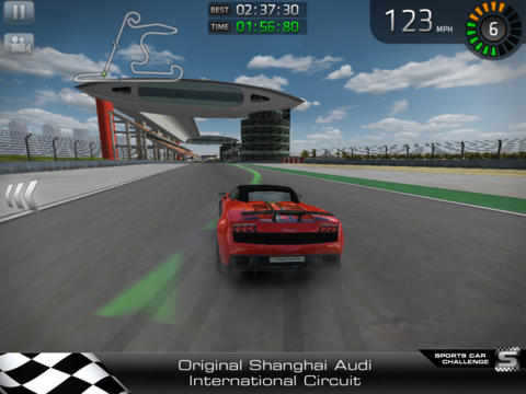 Screenshot 2 Sports Car Challenge