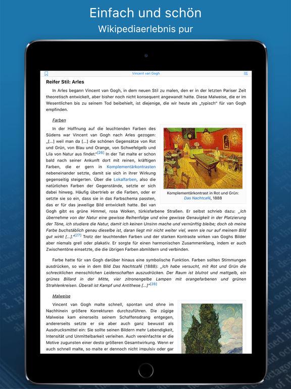 WikiLinks ‐ Die intelligente App für Wikipedia Screenshot