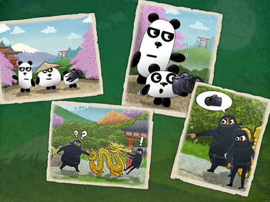 Pandas In Japan 3 - Pets Discovery Screenshots