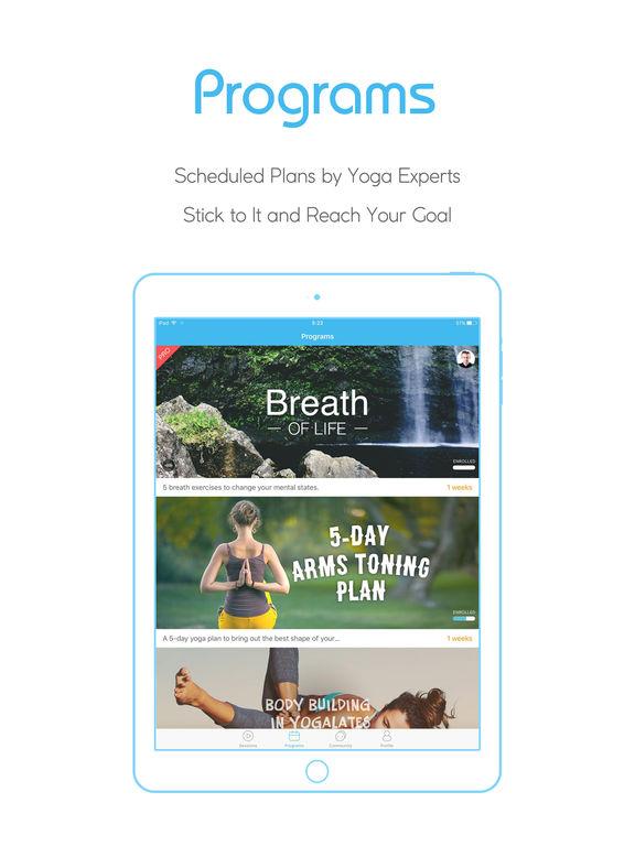Daily Yoga - Workouts, Meditation and Fitness Plan Screenshot