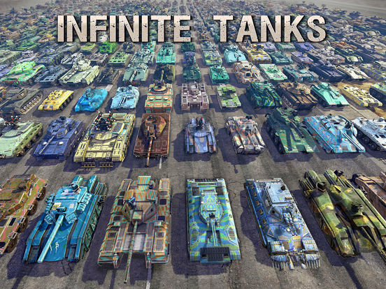 Infinite Tanks iOS Screenshots