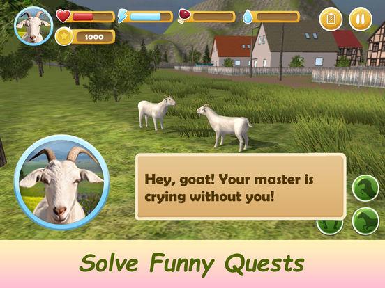 Farm Goat Simulator: Animal Quest 3D Full Screenshots