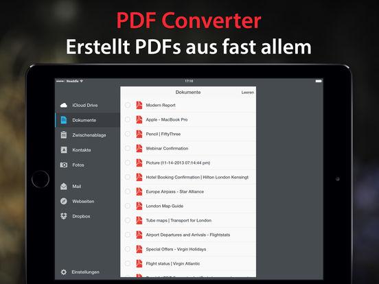 PDF Converter – Dateien & Fotos als PDF speichern Screenshot