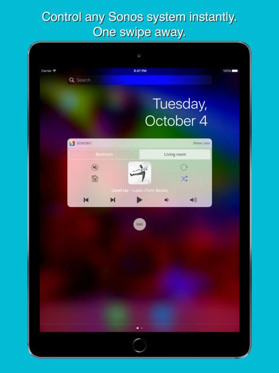 Sonobit - Remote for Sonos Screenshot