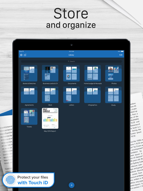 Scanner for Me - PDF Scanner for Documents Screenshot