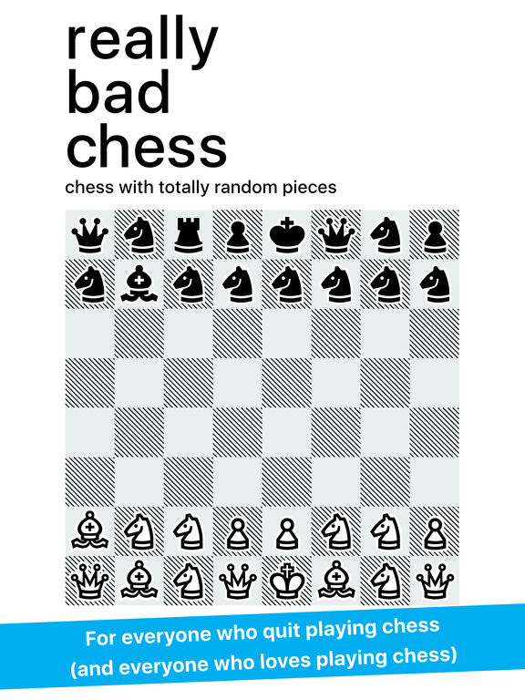 Really Bad Chess iOS Screenshots