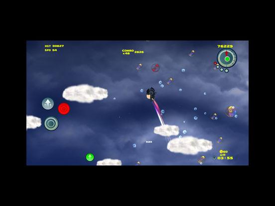 Tungoo - Bubble bursting vertical platformer Screenshot
