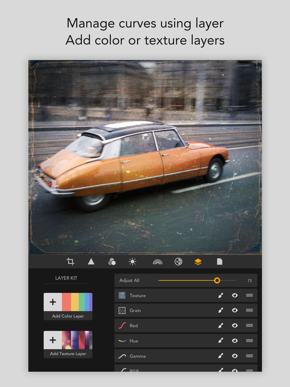 MaxCurve - Photo editor for pro photography Screenshot