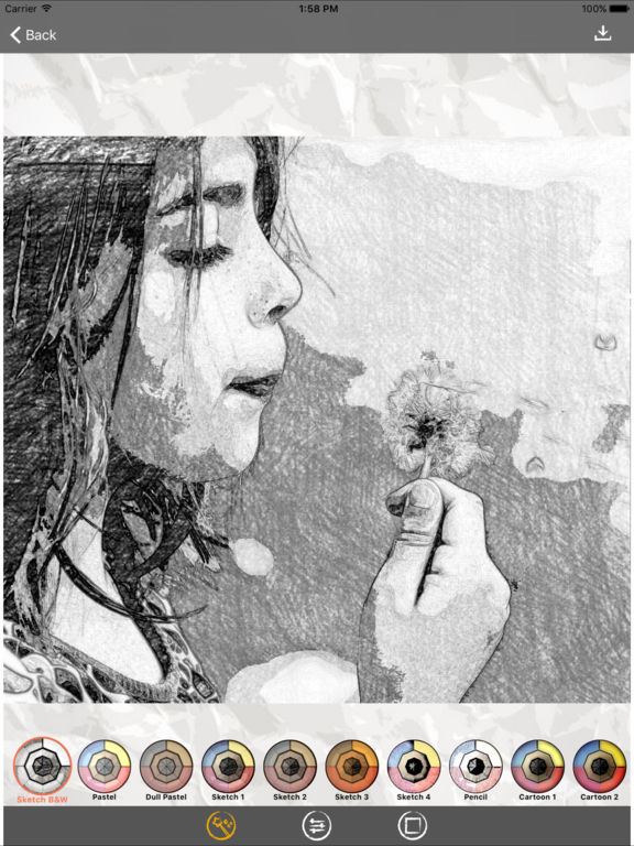 Sketch Me! Sketch&Cartoon Screenshot