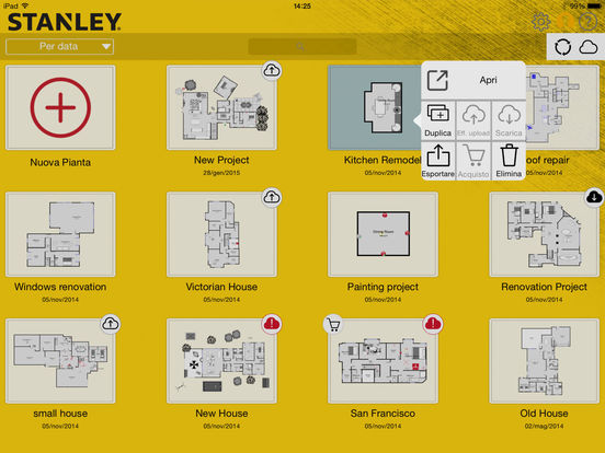 STANLEY Floor Plan Screenshot