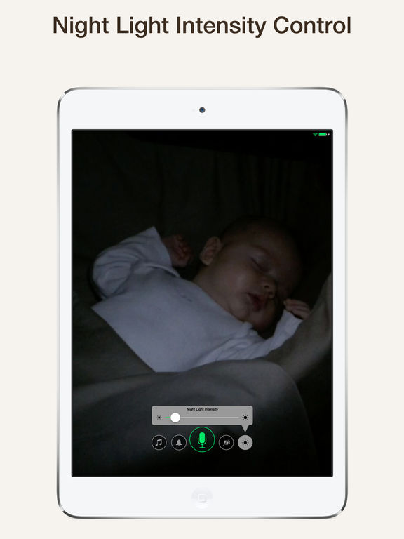 cloud baby monitor video audio unlimited range app voor iphone ipad en ipod touch appwereld. Black Bedroom Furniture Sets. Home Design Ideas