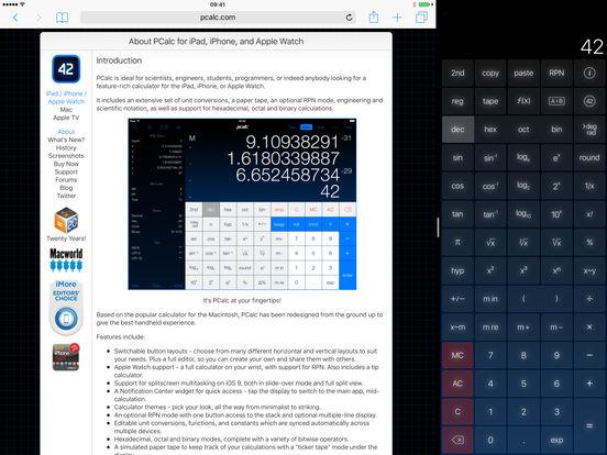 PCalc - The Best Calculator Capture d'écran