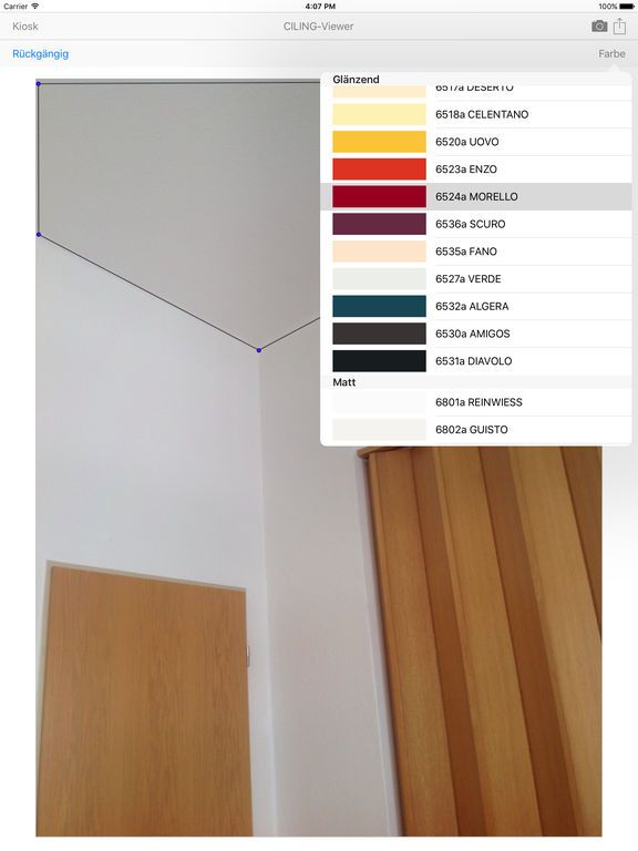 Ciling spanndecken lichtdecken beleuchtung for Raumgestaltung app